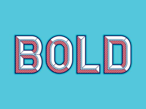 What would a year of being BOLD look like for you?